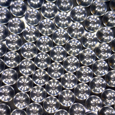 Precision Polished Soda Lime Glass Spheres 1.5mm