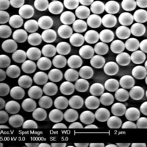 Monodisperse Silica Microspheres Are Ceramic Spherical
