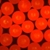 Fluorescent Red Polyethylene Microspheres<br>Density 0.995g/cc<br>Bright Fluorescent Red Particles 605nm Peak.