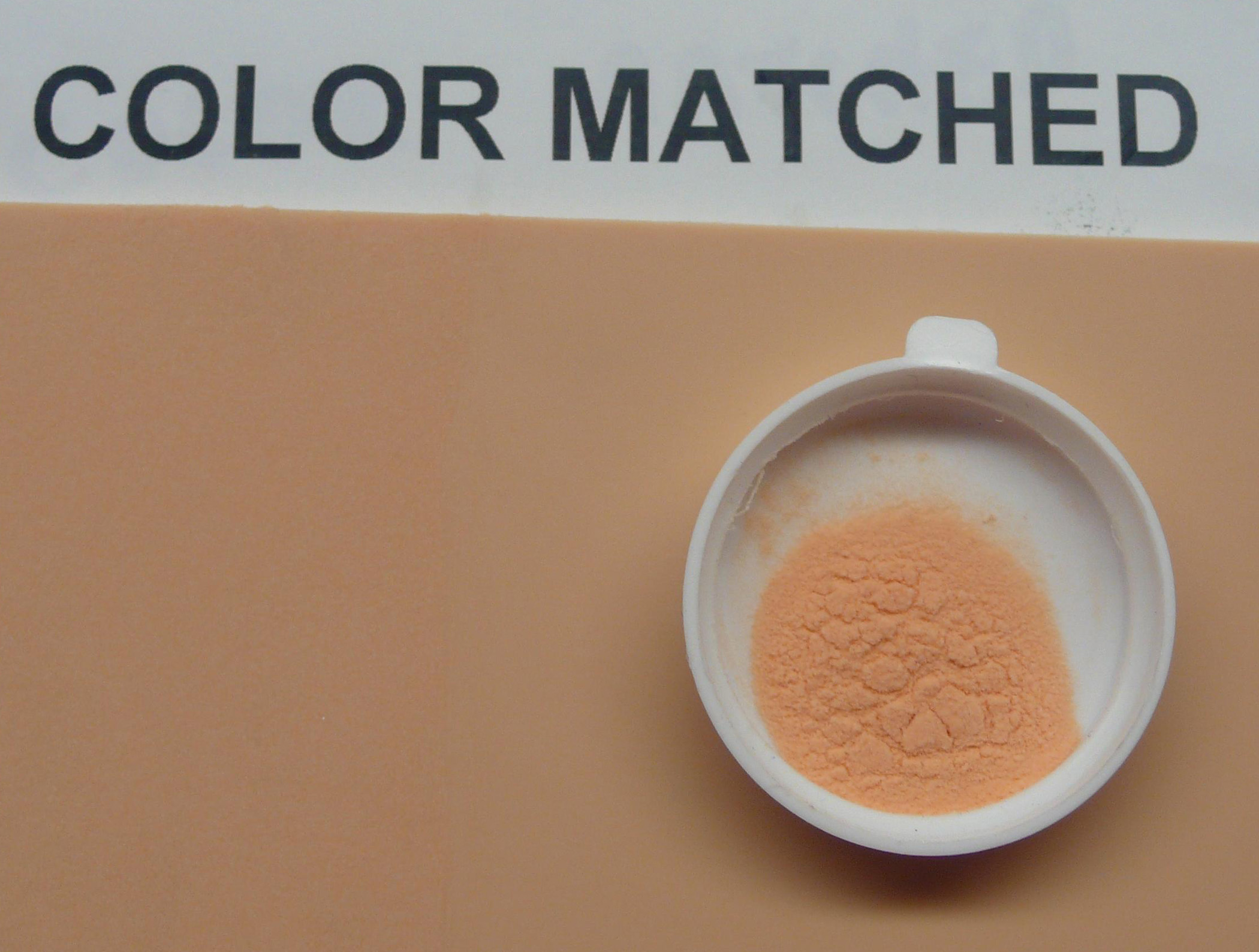 Color-Matched Skin Color Flesh Tone Microspheres