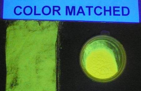 Fluorescent Flesh-Tone Polymer Microspheres (UV Excitation)