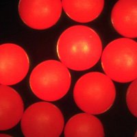 Red Polyethylene Microspheres Density 1.12g/cc<br>Bright Red Polymer Spherical Microbeads