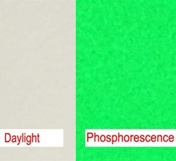 Phosphorescent Yellow-Green Polyethylene Microspheres Density 1.14g/cc<br>Glow In the Dark Yellow-Green Response (470nm-600nm) - Long After-Glow