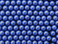 Blue Cellulose Acetate Polymer Spheres Density -1.3g/cc 2.0mm Other Sizes and Colors Available by Request