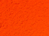 Orange Luminescent, Ultraviolet Fluorescing Polymer Microspheres 1 - 5micron in diameter.